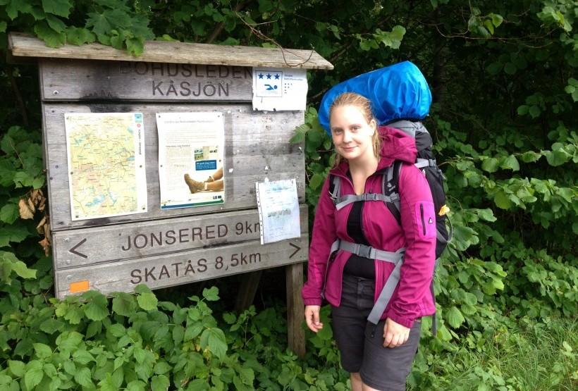 Ankunft am Stora Kåsjön