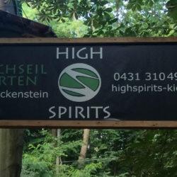 High Spirits – Ein Tag im Hochseilgarten Kiel