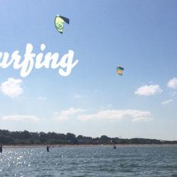 Kitesurfen in Kiel: Laboe ist ideal für Anfänger