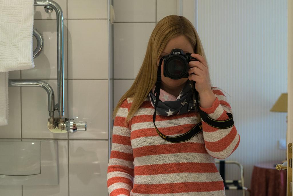 Selfie im Bad